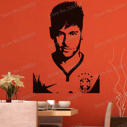 Wholesale Tinkerbell Decal Stickers - tickers tinkerbell Free shipping Wall Stickers Wholesale and retail Wall decor PVC material decals wallpaper football star World Cup Z-...