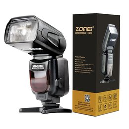 Wholesale Photo Wireless - Zomei Wireless Mini Flash ZM430 Speedlite for Pentax Canon and Nikon, Hot Shoe Flash, Speedlite, Photo Flash