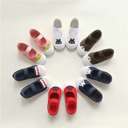 Wholesale Chaussure Flower Girl - Baby Girl Shoes Chaussure Cartoon Princess Pure Baby First Walker Infant Toddler Flower Kids Shoes 0101128