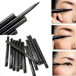 Wholesale Colored Pencils Sale - Wholesale New Hot Sale Easy colored and long lasting Makeup Eyeliner Pen Waterproof Automatic Eyeliner Pencil