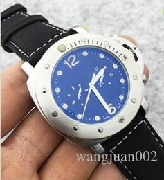 Wholesale Pam Hand - 2017 PAM Top Brand Luxury Watch Men Fashion Wristwatches Automatic Mechanical Hand-Winding Watch Mens Natural Leather Watches Sports Diving