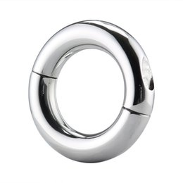 Wholesale Sex Exercise - Sex toys for male cock C rings 304 stainless steel weight ring exercise lock fine delay lasting adult fun toys BDSM