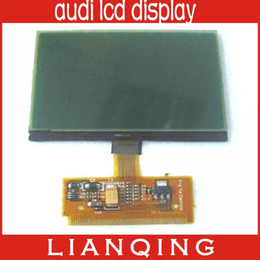 Wholesale Audi A6 Vdo - Gooe Price A3 A4 A6 VDO LCD Display For Audi Lcd Display 10pcs lot free ship