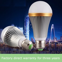 Wholesale Led Bulbs - Led bulb e27 screw plastic package aluminum high Fu Shuai bulb light radar sensor bulb, lead-free aluminum led bulb wholesale