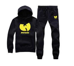Wholesale Wu Tang Sweatshirt - Wu Tang Hoodies Wu Tang Clan Jumpers Men Women Hoody Sweatshirts O-Neck Thick Hip Hop Streetwear Couple Lovers Loose Hooded