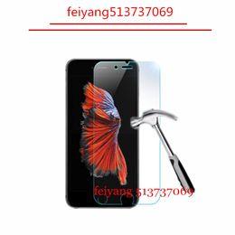 2019 iphone hochwertiges kameraobjektiv 50 stücke 9 H 2.5D Gehärtetem Glas Explosionsgeschützte displayschutzfolie für iPhone 8 5 5 s 5c 6 6 s 4 s 4 7 plus