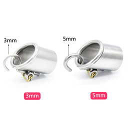 Wholesale chastity cock sound - Stainless Steel PA Puncture Chastity Device,only for PA800 and PA600 Cock Cage,Penis Lock,Cock Ring,Chastity Belt,CPA213