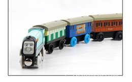 Wholesale Thomas Train Car Wooden - Toy Vehicles Kids Toys Thomas train Toy Model Cars Wooden Puzzle Building slot track Rail transit Parking Garage Wooden Trains Cars Toys