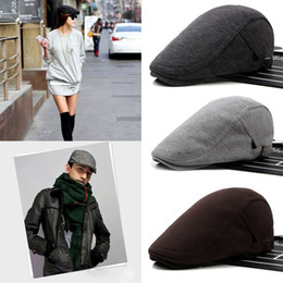 Wholesale News Caps - Wholesale- 1 PC New Men Women Cap Golf Driving Flat News boy Beret Hat Casual