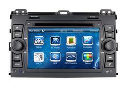 Wholesale Toyota Cruiser - Head Unit Car DVD Player for Toyota Prado 2002 2003 2004 2005 2006 2007 2008 2009 with GPS Navigation Radio BT USB MP3