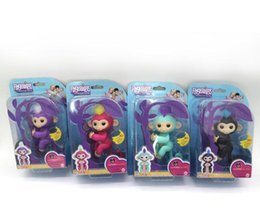 Wholesale Science Sale - Pre-sale Cute Baby Monkey Finger Toys Fingerlings Interactive Monkey Electronic Smart Touch Fingers Monkey toy For Party Grift