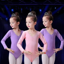 Wholesale Dresses Latin Children - Children 's dance clothes girls dance dress children' s ballet skirts Latin dance clothing children 's gymnastics practice clothes women