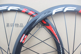 Wholesale Wheels 38mm - 38mm FFWD Clincher Carbon Wheels road bicycle Wheels 23mm width 700C full Carbon Road Bike Wheelset Free shipping
