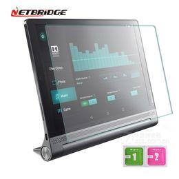Оптовая продажа-для Lenovo йога TAB 3 плюс 10,1-дюймовый закаленное стекло Tablet PC фильм протектор экрана 2.5 D Edge 9 H прозрачный ультра-тонкий от