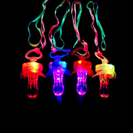 Wholesale Toys Pacifier Flashing - Wholesale-Random LED Flashing Baby Pacifier Toddler Orthodontic Nipple Whistle Flash Glow Sticks Party Supplies Pacifier Care Toy