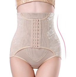 Wholesale Women Body Control - High Waist Trainer Tummy Control Panties Butt Lifter Body Shaper Corsets Hip Abdomen Enhancer Shapewear Underwear Panty Hooks