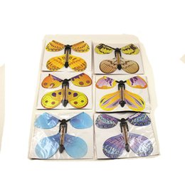 Wholesale Wholesale Child Toys Butterfly - 100pcs magic butterfly flying butterfly from empty hands freedom butterfly magic tricks Mentalism magie kids children toy