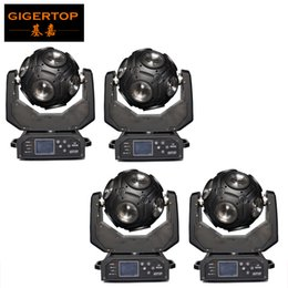 Wholesale Led Nightclub Lights - TIPTOP 4PCS 12x20W CREE RGBW 4in1 LED Football Moving Head Light Great Show Effect DJ Disco Nightclub Party Light DMX 512 21CH