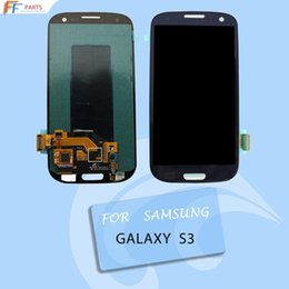 Wholesale Glass S3 Original - DHL Original high copy price s3 lcd screen digitizer repair for samsung galaxy i9300 9305 T999 i535 glass touch panel assembly replacement