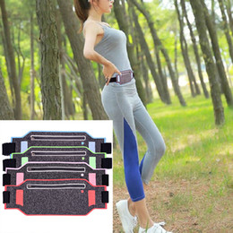 Wholesale Thin Waist Pack - 4-6 inch Super Soft Ultra Thin Breathable Waist Bum Bag Hiking Outdoor Sport Protective Cover Case for Universal Phone Pack Money Belt Pouch