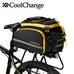 Wholesale Rear Panniers - Cool change bicycle pack mountain bike camel bag shelf kit bicycle bag tail package bag supporting cycling equipment