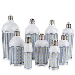 Wholesale Led Flicker Bulbs - New E27 E40 10W 20W 25W 30W 40W 60W 80W LED Corn Bulbs SMD5730 Led Bulb No Flicker 85V-265V LED lamp Spotlight For light & lighting
