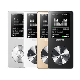 Vente en gros - 2017 Lecteur MP3 HiFi d'origine avec haut-parleur en métal de haute qualité 8 Go sans lecteur de musique prend en charge la carte mémoire 128 Go avec radio FM ? partir de fabricateur