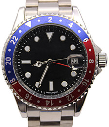 Wholesale Red Dial Watches Men - New Luxury Men watch Automatic Mechanical Men's Stainless Steel Dial Sapphire Ceramic Bezel Original Clasp wristwatch Men watches