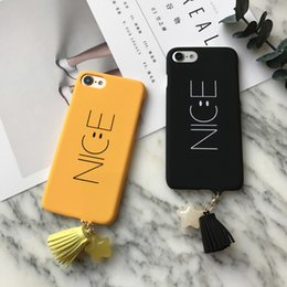 "Wholesale Nice Phone Cases - Fashion Cartoon Nice Letter Case For iphone 6 6S Plus 6Plus 4.7 5.5"" Phone Cases Funny Smile Face Back Cover Hard Capa Coque HOT"