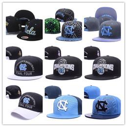 Wholesale College Basketball Teams - 2017 North Carolina Fighting Irish Team Hats Shamrock Series College basketball Caps Hip Hop Snapback Gorras for Men Women Casquette