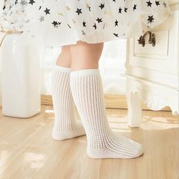 Wholesale Legging Stocking Kids - 2017 Baby Girls Socks Summer Fashion Toddler fishnet stockings hollow out Kids Socks legs sweet princess Children stocks C1244
