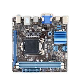 Wholesale Intel I - P8H61-I Original Used Desktop Motherboard H61 Socket LGA 1155 i3 i5 i7 DDR3 16G USB3.0 Mini- ITX On Sale
