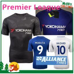 Wholesale Chelsea Orange - 17 18 Chelsea HAZARD MORATA soccer jersey 2017 2018 home blue PEDRO PATO ZOUMA DIEGO COSTA WILLIAN FALCAO FABREGAS Chelsea soccer shirts