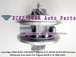 turbo chra Rabatt TURBO CHRA Cartridge Kern BV43 28200-4A470 53039700144 53039700122 28200 4A470 282004A470 Für KIA Sorento 2.5L CRDi 2006- D4CB 170HP