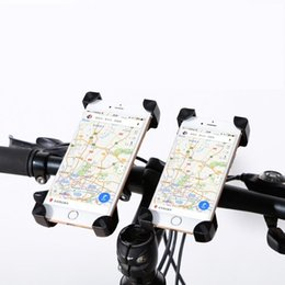 Wholesale Universal Mobile Phone Bike Stand - JEREFISH Bicycle Accessories Handlebar Clip Mount Bracket Mobile Phone Bike Holder Stand for iPhone 5 5s 6 6s plus Samsung Case