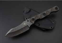 Wholesale Handmade Hunting Knives - Kingdom of Armory VG10 62HRC handmade straight knife by David M. Rydbom folding Survival Knife 1pcs