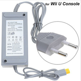 Wholesale Power Supply Game - Power Supply 100-240V AC Adapter for Wii U Game Console Computer Universal Replacement Power Adapters Wall Charger