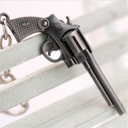 2019 pistolets à feu Cross Fire Key Anneaux Bijoux Simulé Gun CF Alliage Porte-clés Porte-clés Pour Cadeau Vente Chaude pistolets à feu pas cher