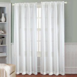 Wholesale Twinkle Tulle - Twinkle star Curtains Voile Tulle Elegant Floral Tulle Voile Door Window Curtain Drape Panel Sheer Scarf Valances Sheer Curtains Sheer Curta