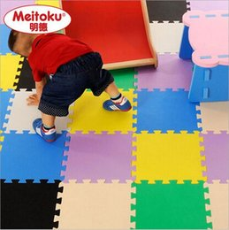 Wholesale Outdoor Floor Mats - Children's Soft Developing Crawling Rugs Baby Play Puzzle Number Letter Cartoon Eva Foam Mat Pad Floor For Baby Games 30*30*1CM