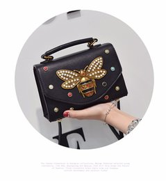 Wholesale Halloween Covers - High quality Original Women Bag female bags Italy Luxury Brand bags Fashion 2017 with butterfly