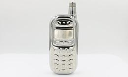 Wholesale Steel Cellphone - Creative cellphone shape hip flask 3oz alcohol flagon carry pocket jug stainless steel mini wine pot