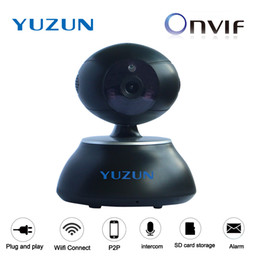 Wholesale Onvif Ip Camera Software - onvif p2p ip security camera software download two way audio baby camera wireless wifi monitor cctv camera black night vision