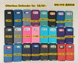 Wholesale Defender Retail - 3 in 1 Robot Defender Case 1:1 High Quality Tough Cover + Clip for iPhone 7 7+ Samsung S8 S8+ with Retail Box