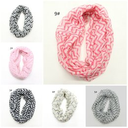 Wholesale Fine Wave - Wholesale-2016 foreign trade fashion pure and fresh temperament fine double color stripe wave lines voile scarf scarf spot