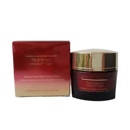 Wholesale Mask Night - New Red Pomegranate Nutritious Night Vita Mineral Nourishing Creme Mask 50ml Night Cream FREE SHIPPING