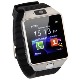 2019 teléfonos firefox Smart Watch DZ09 con cámara Reloj de pulsera Bluetooth Tarjeta SIM Smartwatch Para teléfonos Android iOS Compatible con múltiples idiomas Relojes inteligentes teléfonos firefox baratos