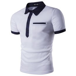 Wholesale Best Clothing For Men - Best Selling Men's Casual T Shirt Brand Polos Suumer Pop Tees Cotton Short Sleeve Clothing For Male 2017 Hot