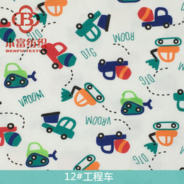 Wholesale Diamond Sewing Buttons - Baby Cotton Fabric Weft Printing Double - Sided Knitted Fabric Three - Angle Knitted Baby Fabric 42 Kinds Of Styles And Colors