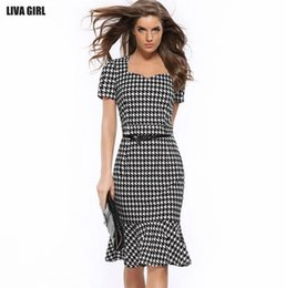 Wholesale Hot Pink Pencil Dress - Hot sale Women casual dresses sexy hip-hugger fishtail evening dresses slim pencil dresses Large company strengh to build